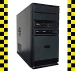 Imicro Black Custom Built Desktop Computer